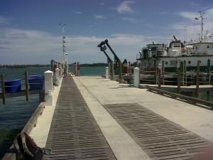 secret beach dock