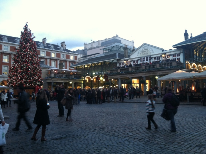 Covent Garden outside