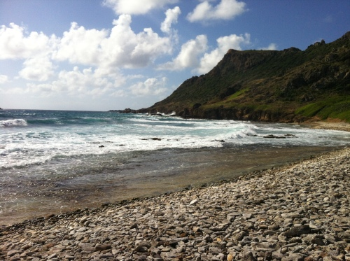Beach Run on St Barth